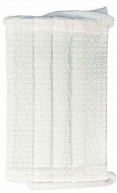 MGクールマックスワイヤー入ギャザー洗えるマスク(Mサイズ)(ホワイト)MGMT000M-01
