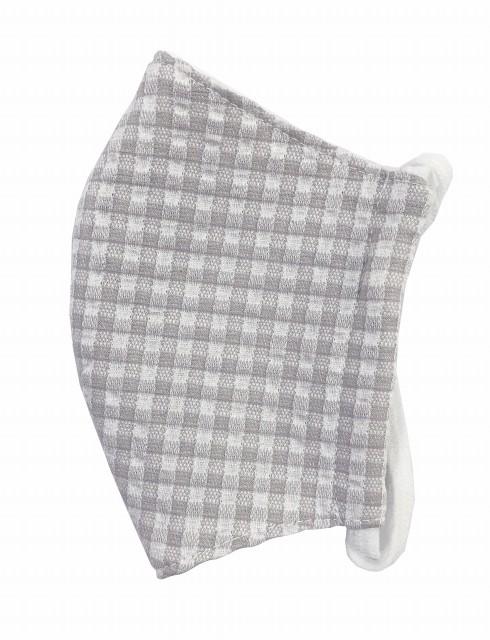 MKクールマックス立体縫製洗えるマスク(SSサイズ)(ライトグレー)MKTT000M-20