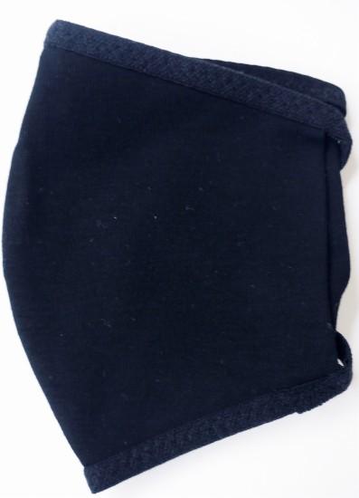 接触冷感立体縫製洗えるマスク(SSサイズ)(クロ)MKTT003M-50