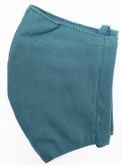 接触冷感立体縫製洗えるマスク(Sサイズ)(ダルグリーン)MKST003M-78