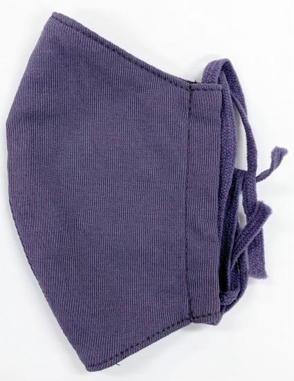 接触冷感立体縫製洗えるマスク(Sサイズ)(スモークパープル)MKST003M-66