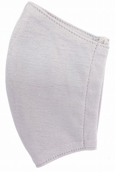 接触冷感立体縫製洗えるマスク(Mサイズ)(ペールグレー)MKMT003M-10
