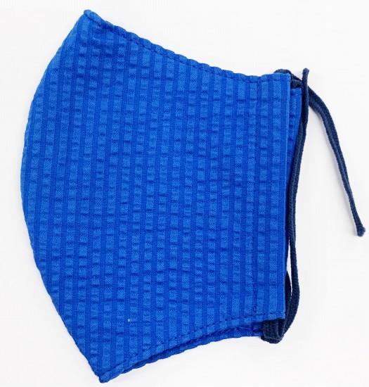 MKクールマックス立体縫製洗えるマスク(Sサイズ)(ブルー)MKST000M-39