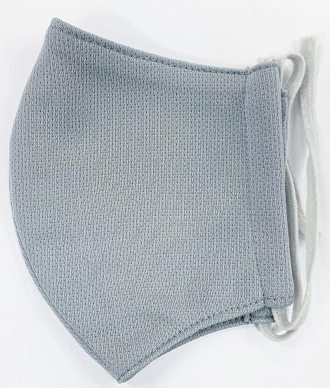 スポーツドライ立体縫製マスク(Lサイズ)(グレー)MKLT005M-30