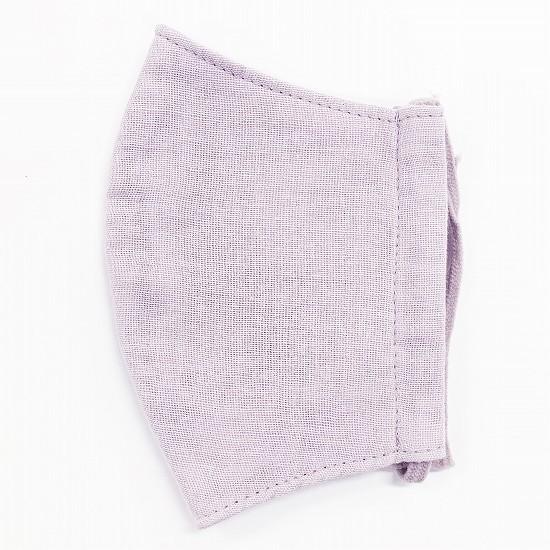 ナノファイン加工綿100%立体縫製洗えるマスク(Mサイズ)(フジ)MKMT002M-65