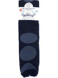 【UV・冷感加工】 60cmロング丈 アームカバー(クロ) ACLT120R-50B