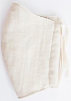 MK綿100ガーゼ4重構造立体縫製洗えるマスク(Sサイズ)(ライトベージュ)MKST001M-31