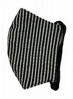 MKクールマックス立体縫製洗えるマスク(Sサイズ)(クロ×S)MKST000M-50S