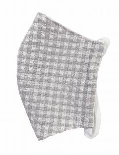MKクールマックス立体縫製洗えるマスク(Mサイズ)(ライトグレー)MKMT000M-20