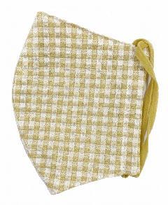 MKクールマックス立体縫製洗えるマスク(Mサイズ)(マスタード)MKMT000M-72