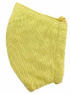 接触冷感立体縫製洗えるマスク(Mサイズ)(マスタード)MKMT003M-72