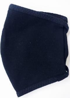 接触冷感立体縫製洗えるマスク(Mサイズ)(クロ)MKMT003M-50