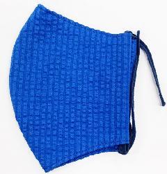 MKクールマックス立体縫製洗えるマスク(Mサイズ)(ブルー)MKMT000M-39