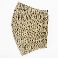 ナノファイン加工綿100%立体縫製洗えるマスク(Lサイズ)(キャメル)MKLT002M-71