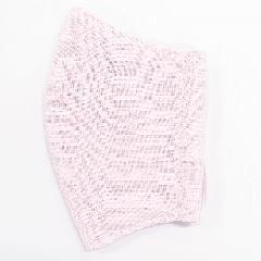 ナノファイン加工綿100%立体縫製洗えるマスク(Lサイズ)(ライトピンク)MKLT002M-14