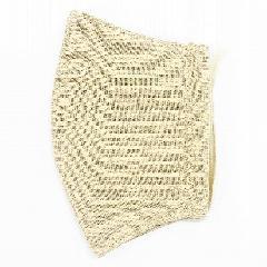 ナノファイン加工綿100%立体縫製洗えるマスク(Lサイズ)(ベージュ)MKLT002M-41