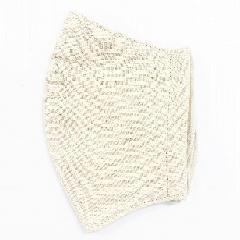 超抗菌加工ナノファイン加工綿100%立体縫製洗えるマスク(Lサイズ)(ライトベージュ)MKLT002M-31