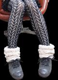 ブーツ・デコショート丈うず巻きファー PDCT001V-31(ライトベージュ)