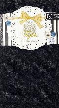 デニム風タイツ ナイロン80デニール (ブラック)PTT016R-50