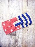 星条旗柄ターバン(ブルー) AHBA030R-39