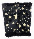 ベロアアームウォーマー(クロ星柄) AWT151Z-50