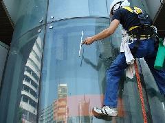 東京都 江東区 オフィスビル ガラス清掃
