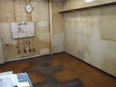 東京都大田区オフィス 床・壁・天井 ヤニ洗浄