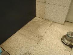 東京都 世田谷区 ビル内 自動販売機跡 石洗浄