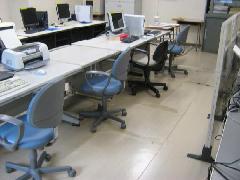 埼玉県 所沢市 オフィス 弾性床 床洗浄