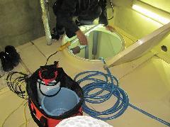 東京都練馬区オフィスビル 貯水槽清掃