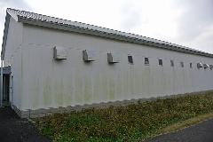 千葉県 香取市 建物外壁 壁面高圧洗浄作業
