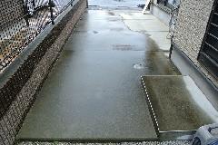 東京都清瀬市戸建て駐車場高圧洗浄