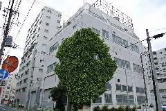 東京都中央区工場のツタ除去作業