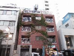 東京都 渋谷区松濤(松涛)マンション建物つた除草