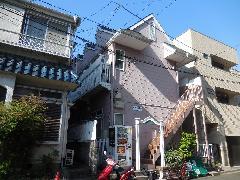 横浜市アパートツタ除去作業