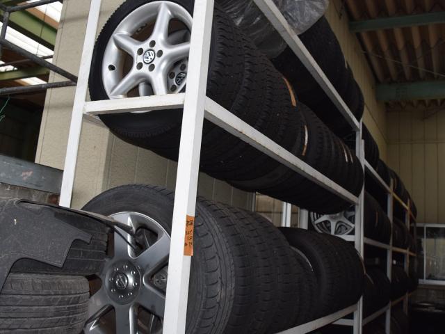 タイヤ保管サービスもご利用ください!