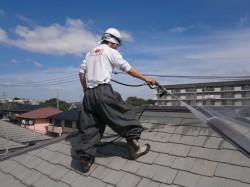 屋根葺き替え カバー工法の葺き替え
