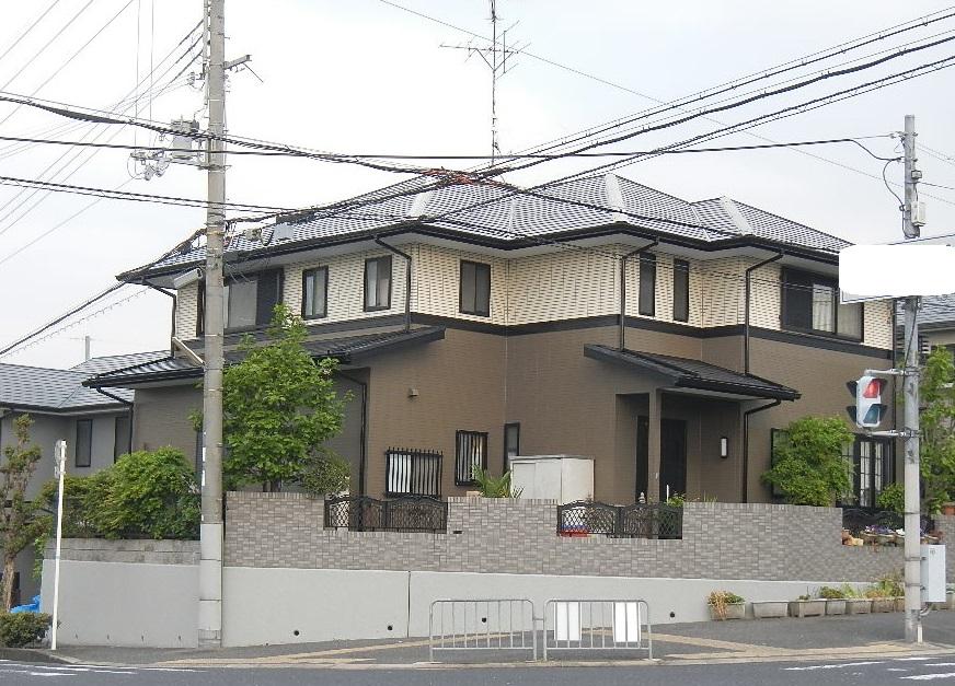 大阪府南河内郡 I様邸 外壁屋根塗装工事