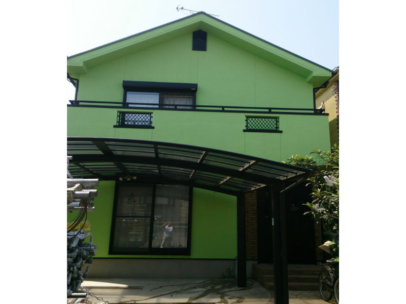 大阪府河内長野市 S様邸 外壁屋根塗装工事
