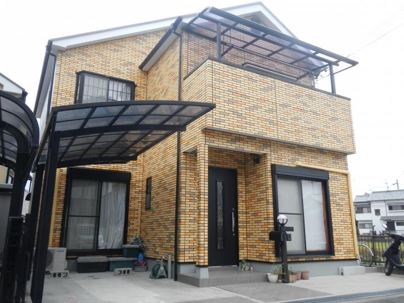 富田林市 F様邸 外壁・屋根塗装工事