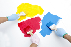 塗料は1色だけではなく2色以上がトレンド