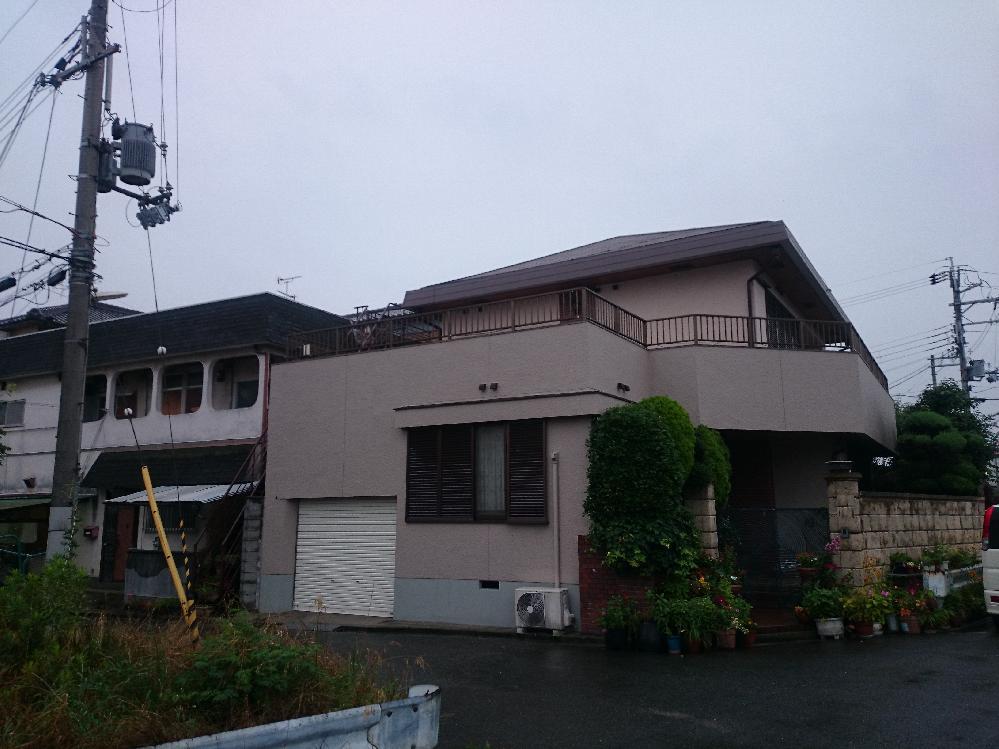 羽曳野市向野 M様邸 外壁・屋根塗装工事
