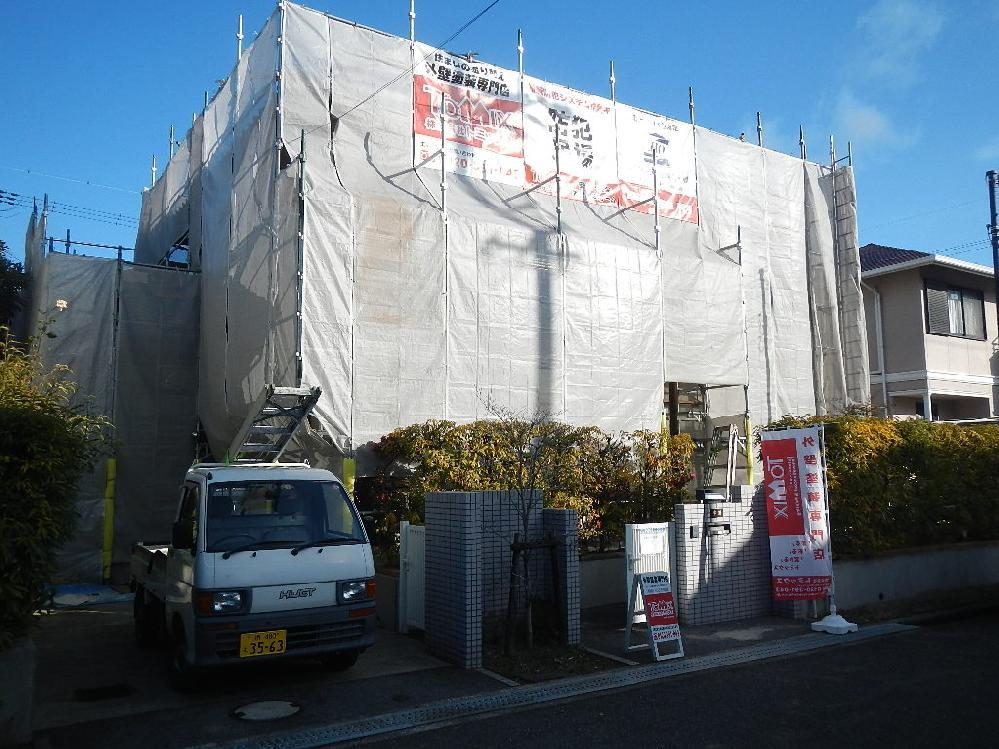 外壁塗装工事 貝塚市