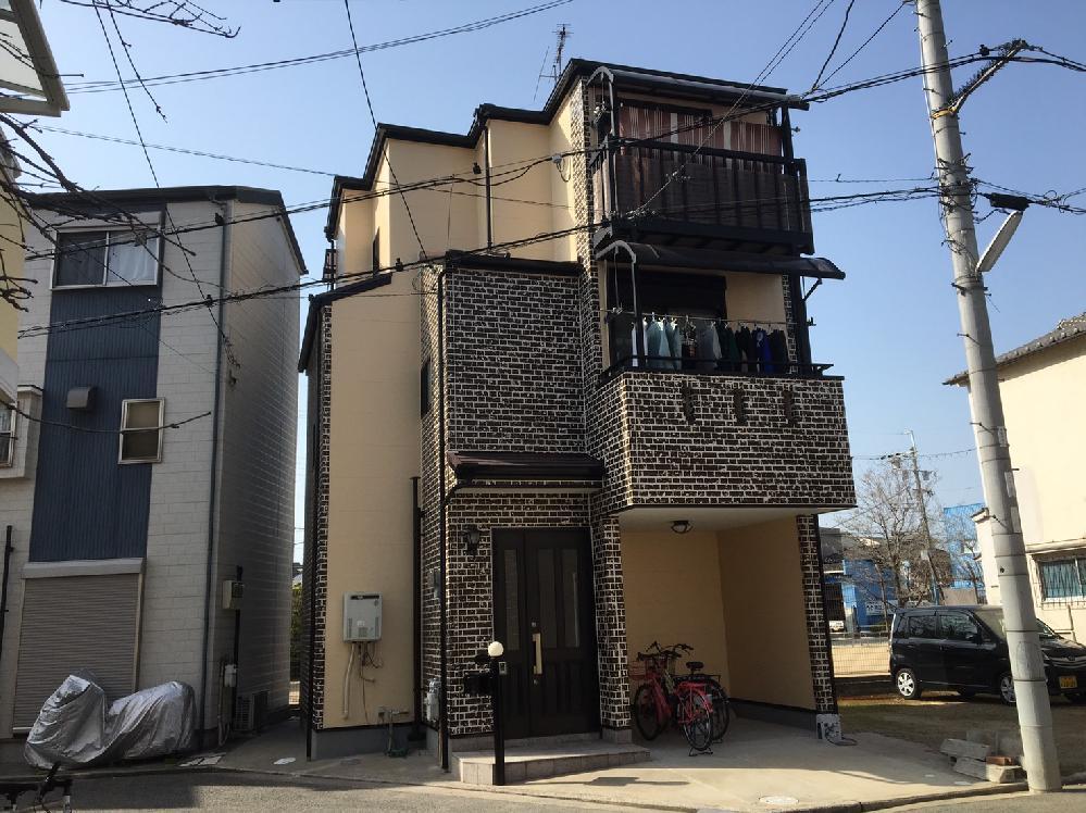 堺市東区 S様邸 外壁・屋根塗装工事