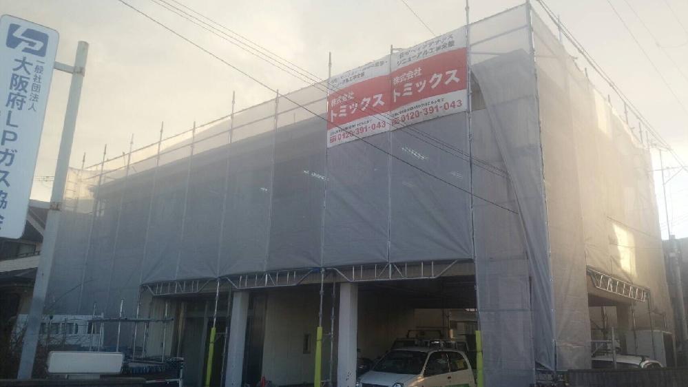 外壁・屋根塗装工事 泉佐野市 塗装の様子
