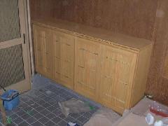 竹使用玄関収納