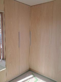 L型玄関収納