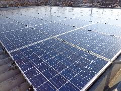 都市管理サービス 本社に太陽光発電システムを導入しました