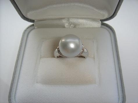 南洋白真珠リング76350