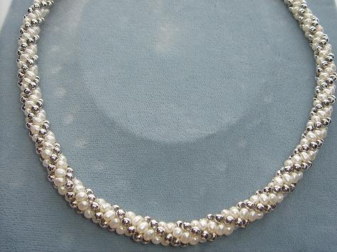 淡水真珠アクセサリ−FN1104